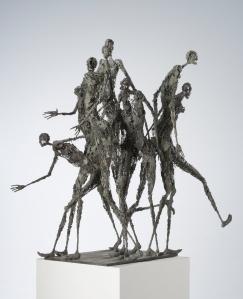 Sculpture Sophie Jouan - Heure de pointe