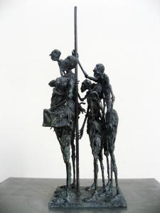 Sculpture Sophie Jouan - Métro